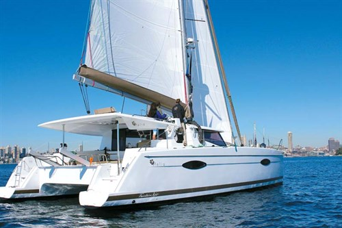 Fountaine Pajot Helia 44 sailing boat