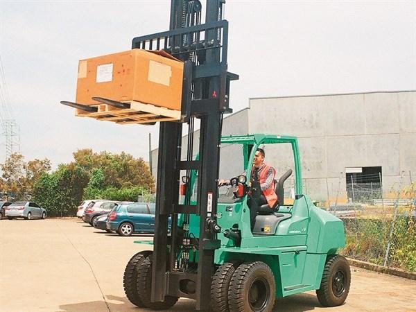 Mitsubishi _Grendia _FD70N_Forklift