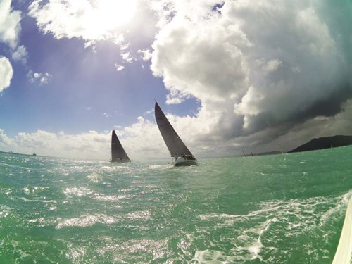 2014 Airlie Beach Race Week storm