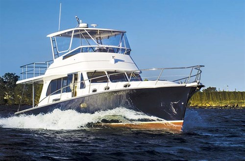 Fairway 43 Flybridge cruiser