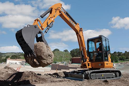 CASE-CX55B-excavator -body