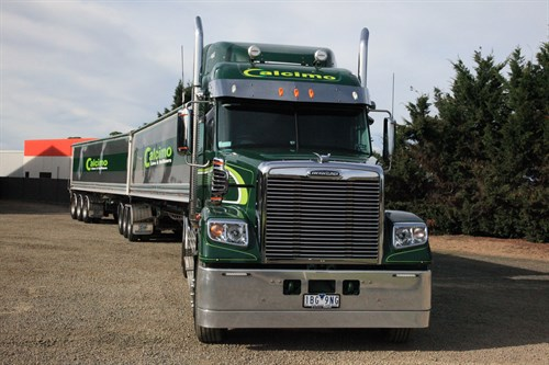 Freightliner Front View