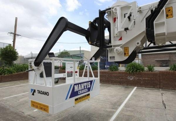 Tadano Mantis Work Platform