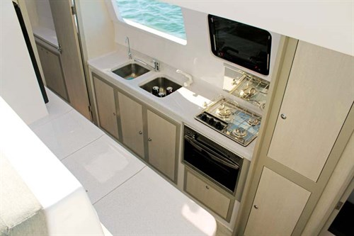 Seawind 1160 Lite galley