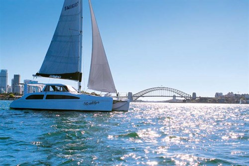 Seawind 1160 Lite in Sydney Harbour