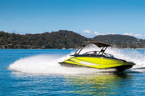 Turning Scarab 215 HO Impulse