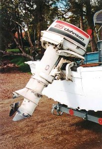 Johnson 25 outboard motor