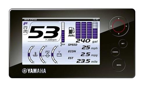 Yamaha digital fuel display
