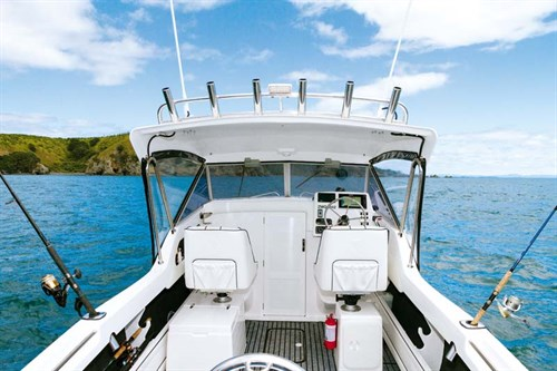 Caribbean Reef Runner Hardtop layout