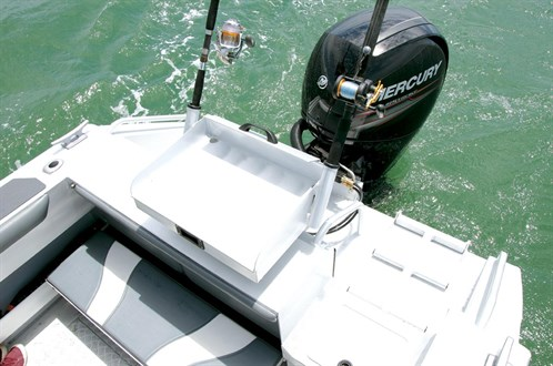 Mclay 611 Crossxover HT transom