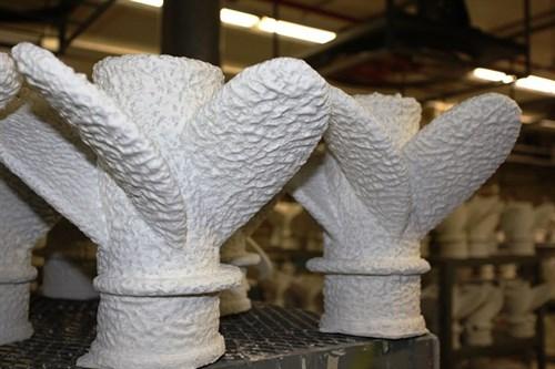 Last-foam casting propellers