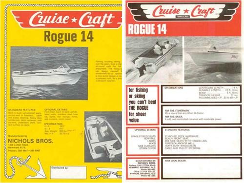 Cruise Craft Rogue 14