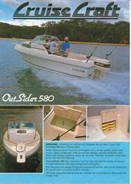 Cruise Craft Outsider 580