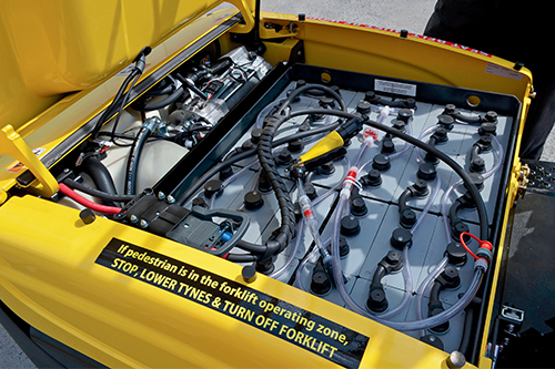 Hyster forklift electric batteries