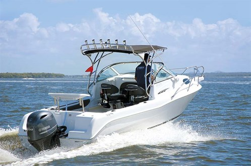 Yamaha F130XA on Cruise Craft 575