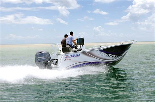 Yamaha F130XA on Sea Jay 5.6 Striker