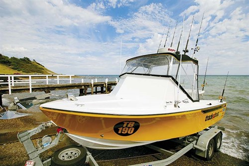 Boat bimini cover