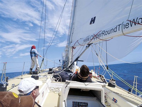 Sydney to Hobart yacht kite run