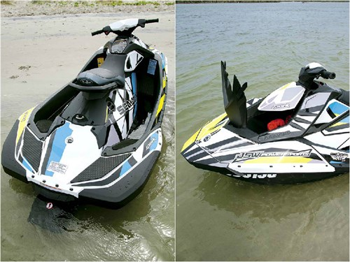 Sea Doo Spark features