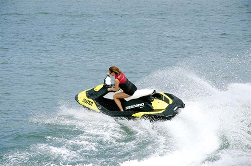 Turning Sea-Doo Spark PWC