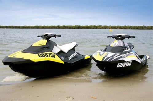 Sea-Doo Spark jetskis