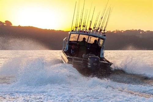 Senator RH690 on the water