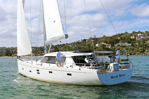 Moody 54 DS sailing yacht