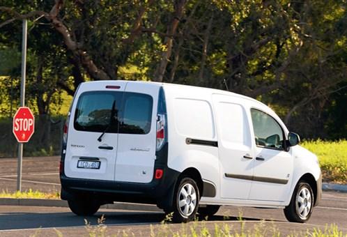 Renault -Kangoo -ZE,-review ,-van ,driving ,-rear ,-ATN
