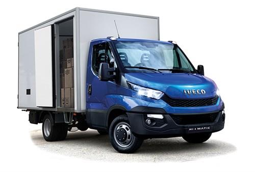Iveco -Daily ,trailer ,-ATN