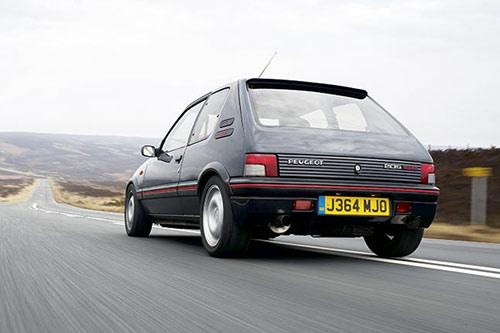 Peugeot 205gti 4-500