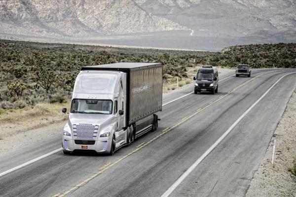 Daimler -Trucks -North -America --Freightliner --Cascadia ---autonomous --ATN4
