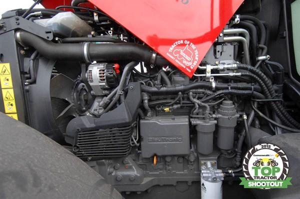 Massey -Ferguson -7615-Dyna -6-engine