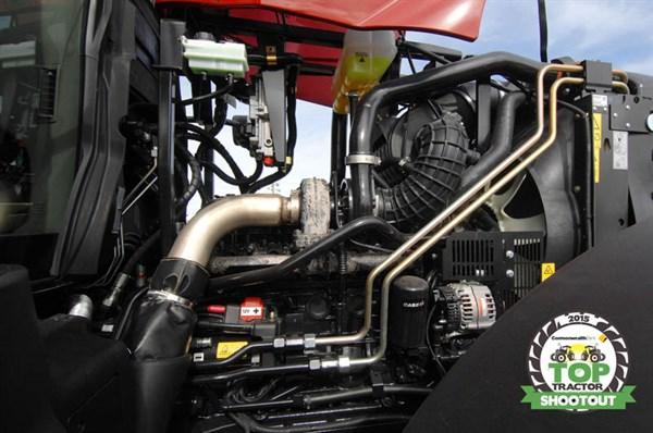 Case IH Puma 160-engine