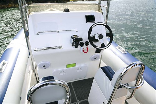 Console on Ballistic 6.5 RIB