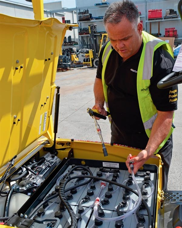 Adaptalift ,-Hyster ,-J25XN,-forklift ,-review ,-service ,-ATN