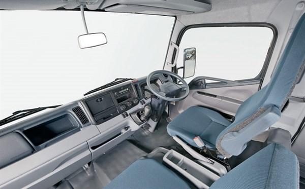 Fuso -Canter -FG,-Mitsubishi ,-truck ,-review ,cab -ATN