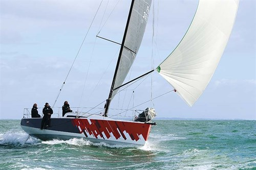 Jeanneau Sun Fast 3600 sails