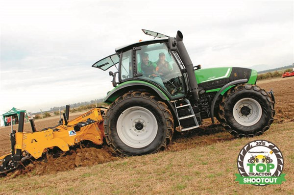 Deutz Fahr M600 Summit with Cultivator