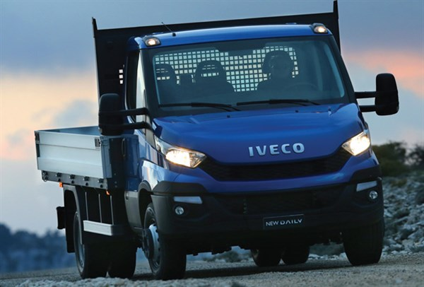 Iveco -Daily ,-van ,-review ,front ,-ATN