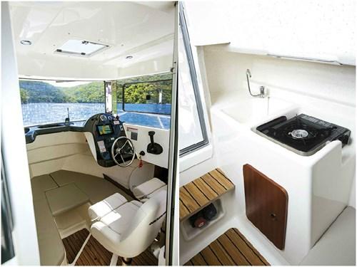 Arvor Diesel range interior