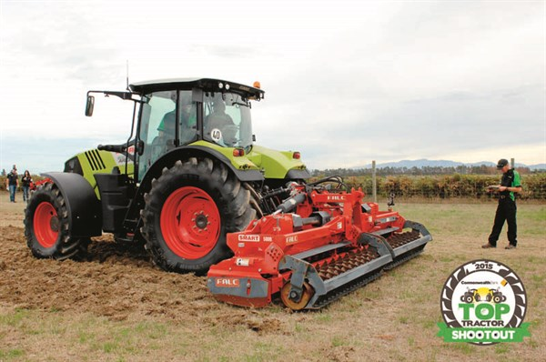 Claas Arion 630 CIS-powerharrow