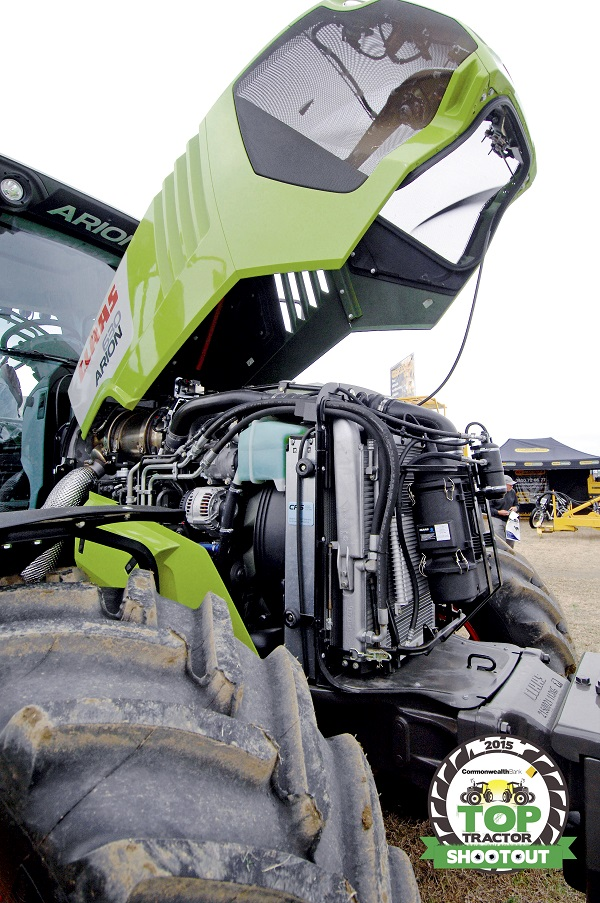 Claas Arion 630 CIS-engine Servicing