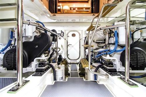 Grand Banks Aleutian 55 engines