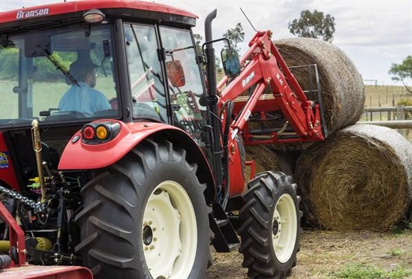 Branson K78C Tractor -pick Hay Bales -2185