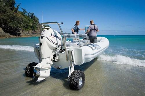 Sealegs 7.1 RIB amphibious boat