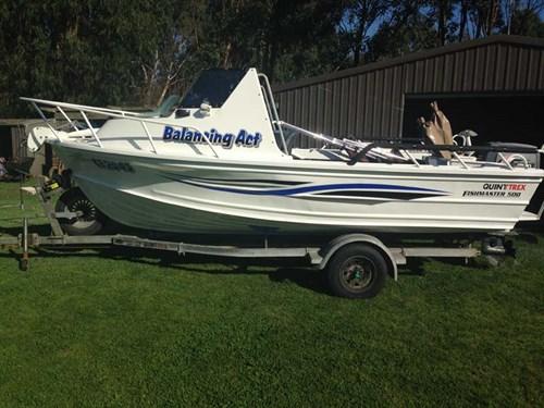 1986 Quintrex Fishmaster profile