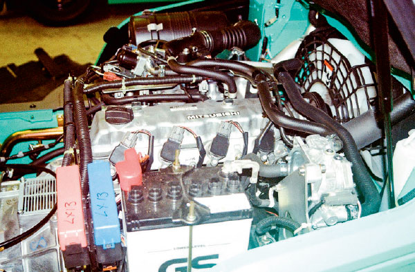 Mitsubishi -Grendia -FG25N,Mitsubishi -FB25CA,-forklift ,-faceoff ,-review ,-ATN3