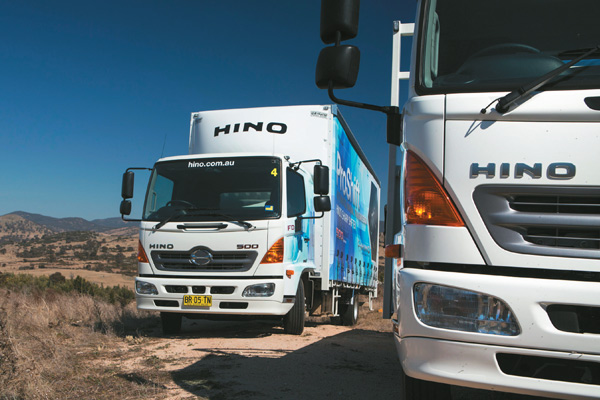 Hino ,-500-series ,-FD,-FC,-Pro Shift -6-transmission ,-review ,-ATN2