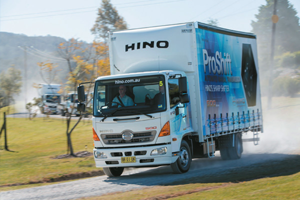 Hino ,-500-series ,-FD,-FC,-Pro Shift -6-transmission ,-review ,-ATN4