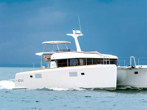 Lagoon 40MY powered catamaran
